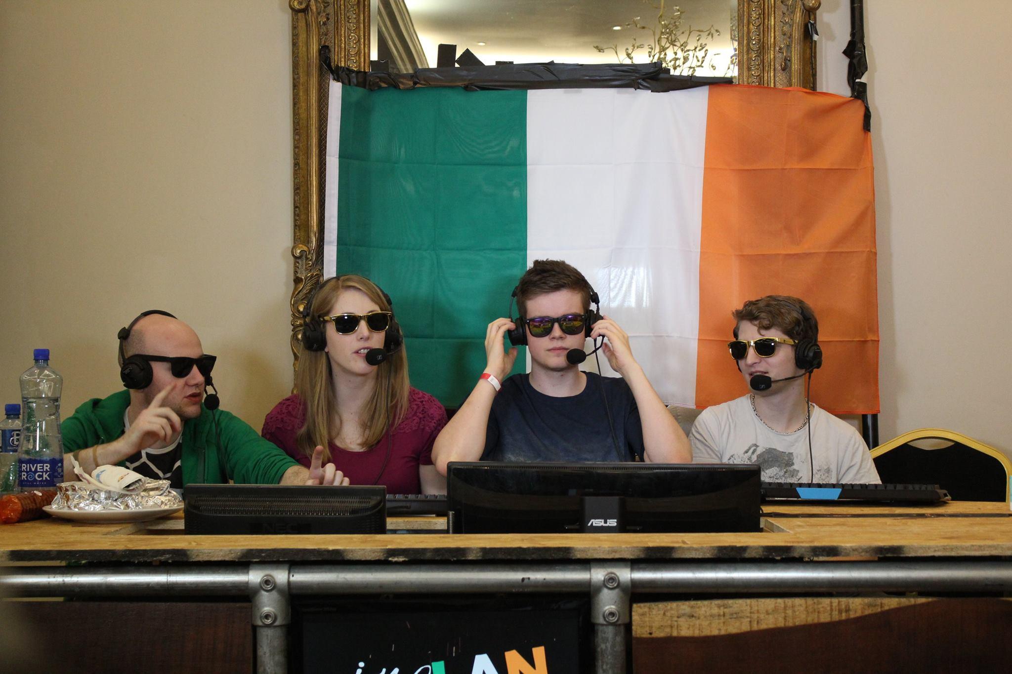 Sheever IreLAN Host Esports Dota 2