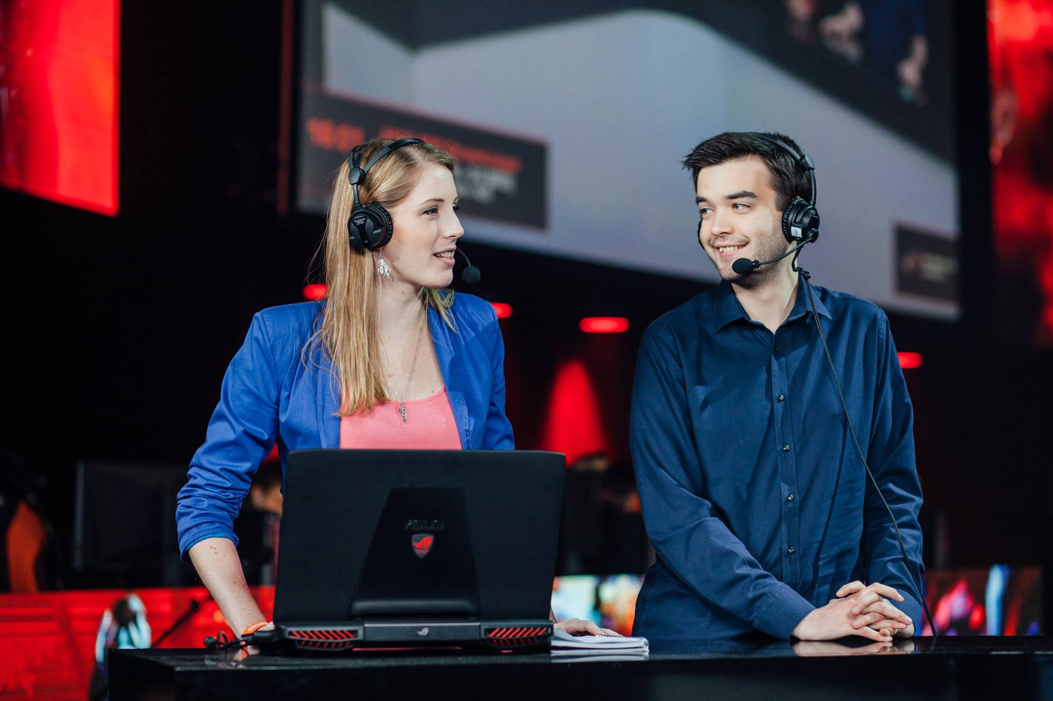 Sheever Host DreamLeague Esports E-sports Dota 2 DreamHack