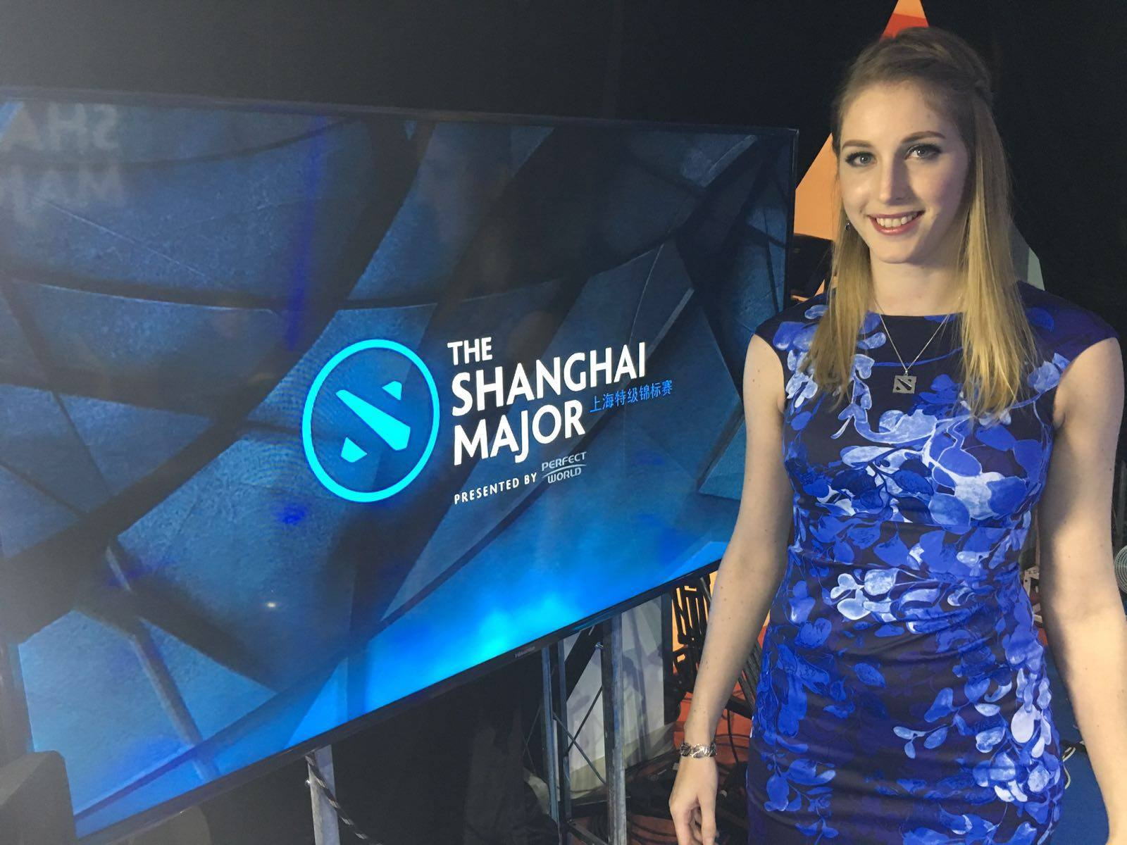 Sheever Dota 2 Host Shanghai Major Esports e-sports